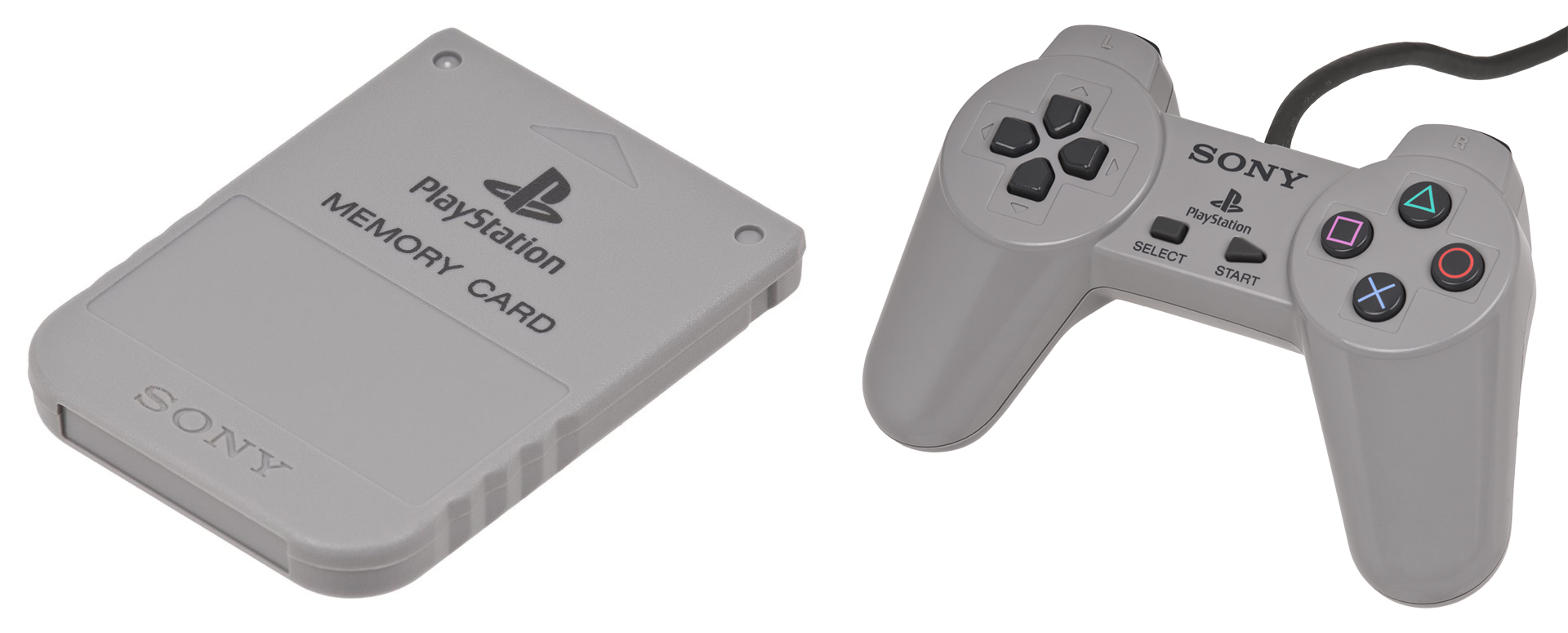 Memory Card PlayStation Controller