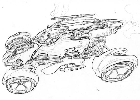 Concept Jak X Racing Combat