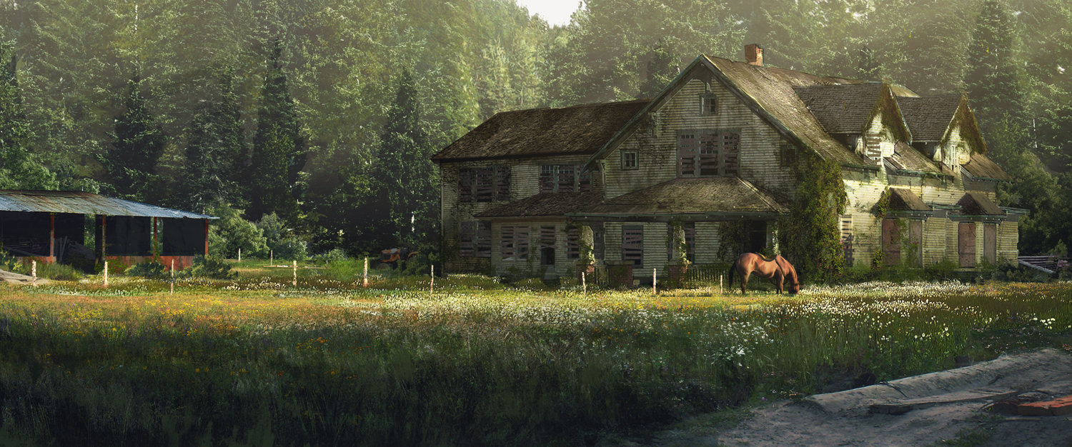 Concept Art The Last Of Us