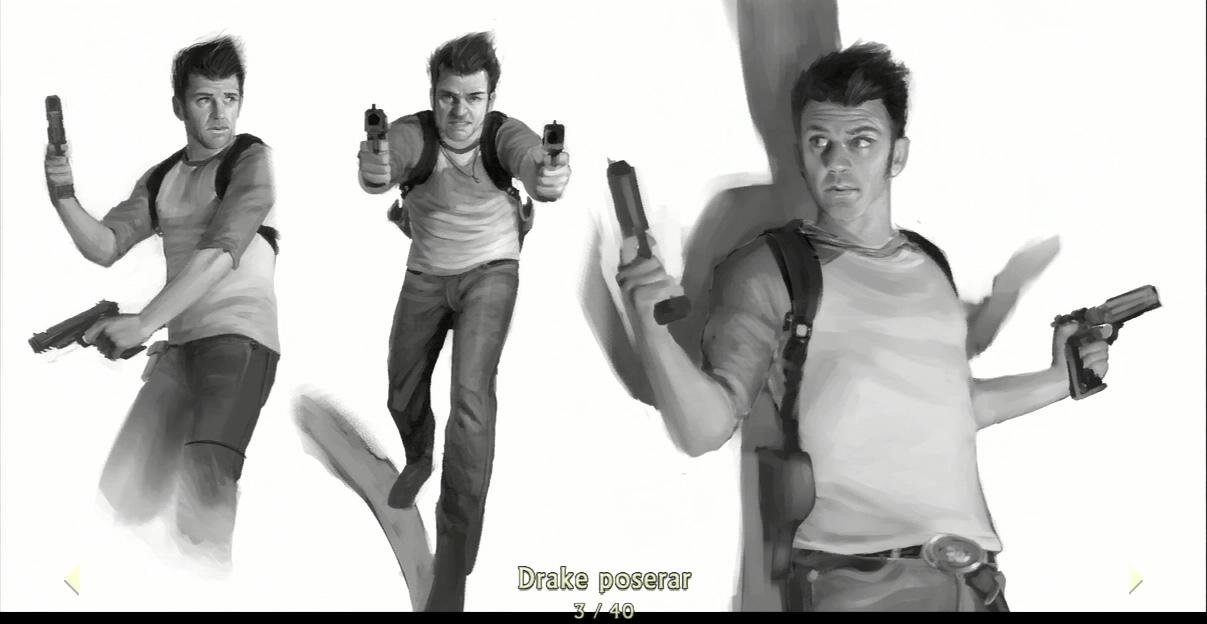 Uncharted Drake's Fortune Nathan Drake Concept