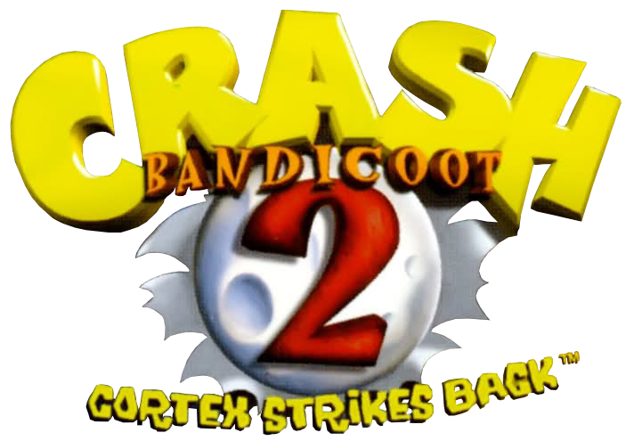Logo Crash Bandicoot 2