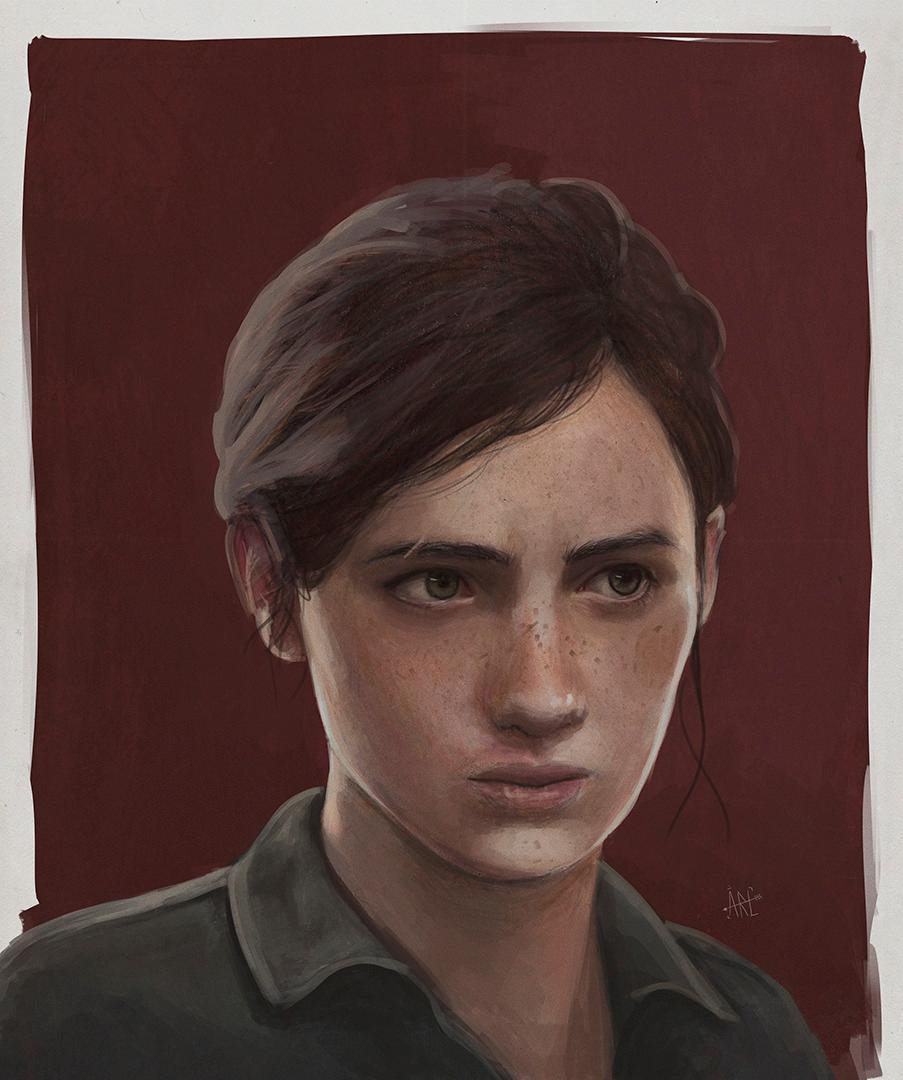 Ellie The Last Of Us Part II FanArt Friday