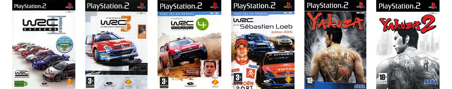 Jeux Exclusifs PS2