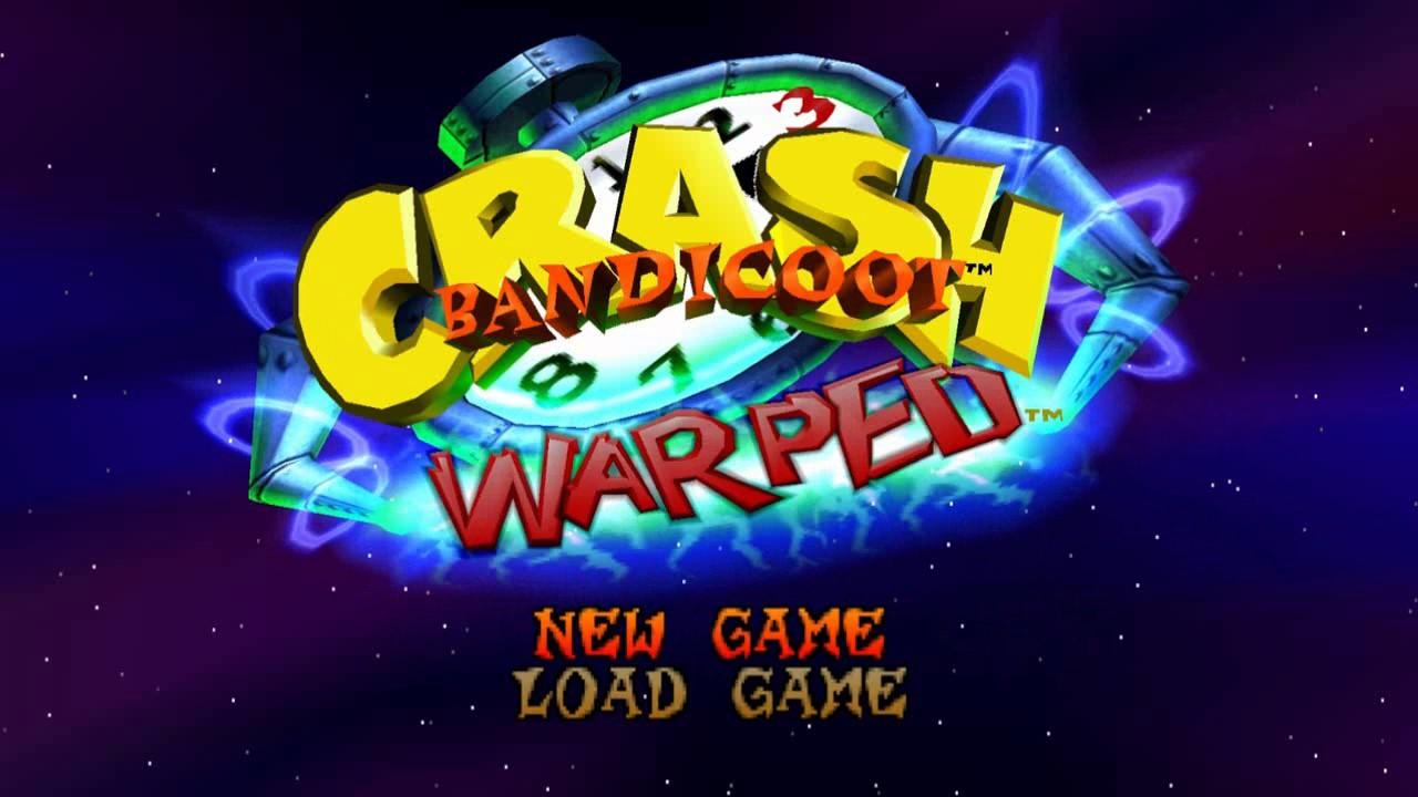 Menu Crash Bandicoot 3