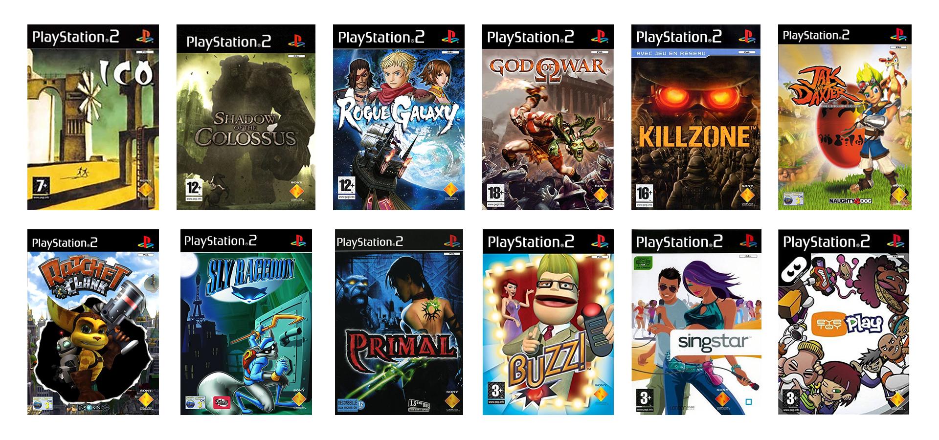 Nouvelles Exclusivités PS2
