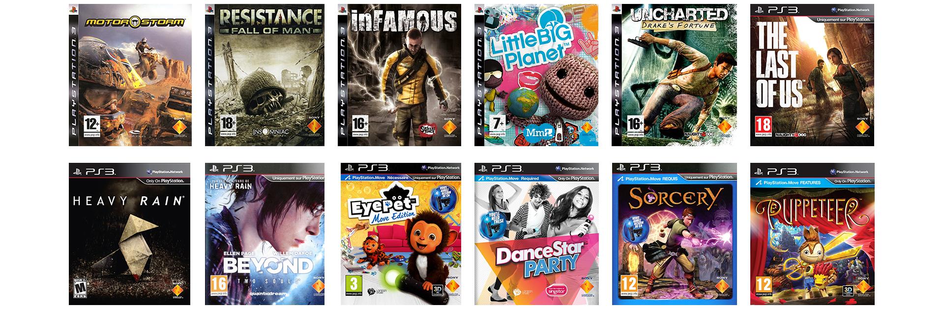 Jeux Exclusifs PS3