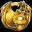 Trophée Or Jak X