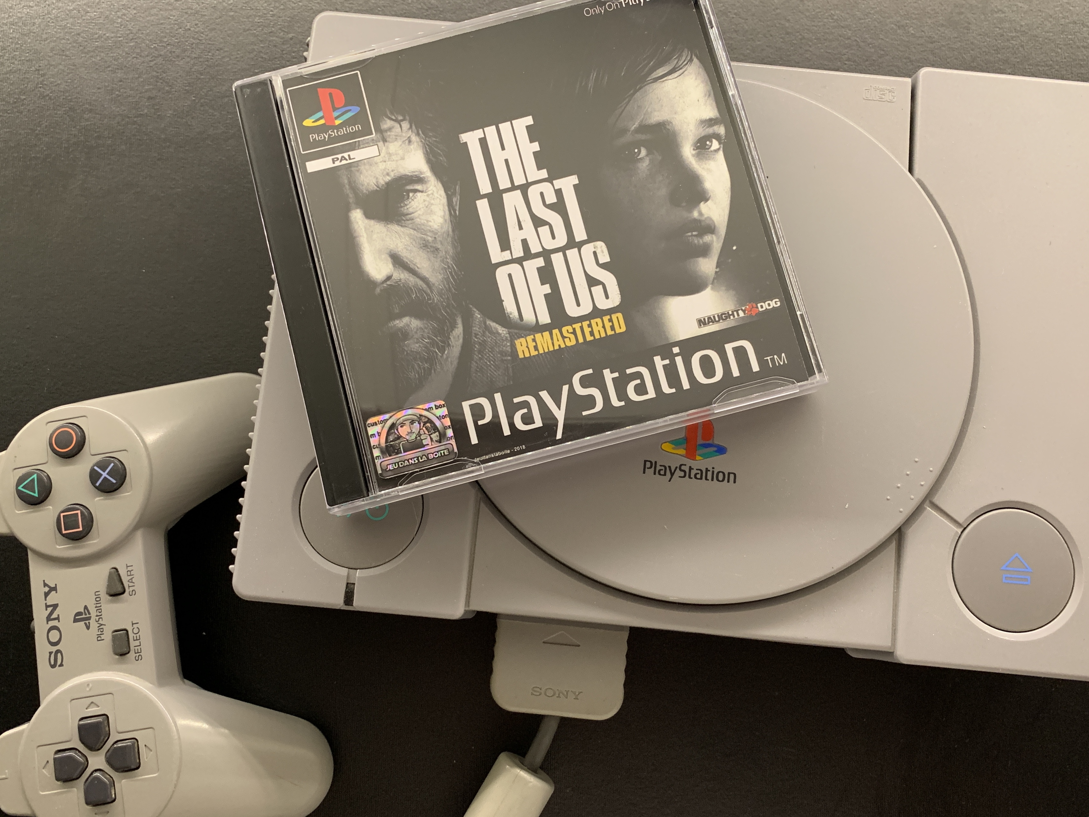 Concours The Last Of Us PS One