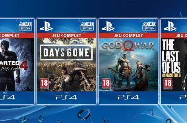 Code Téléchargement Jeux PS4 Terminé