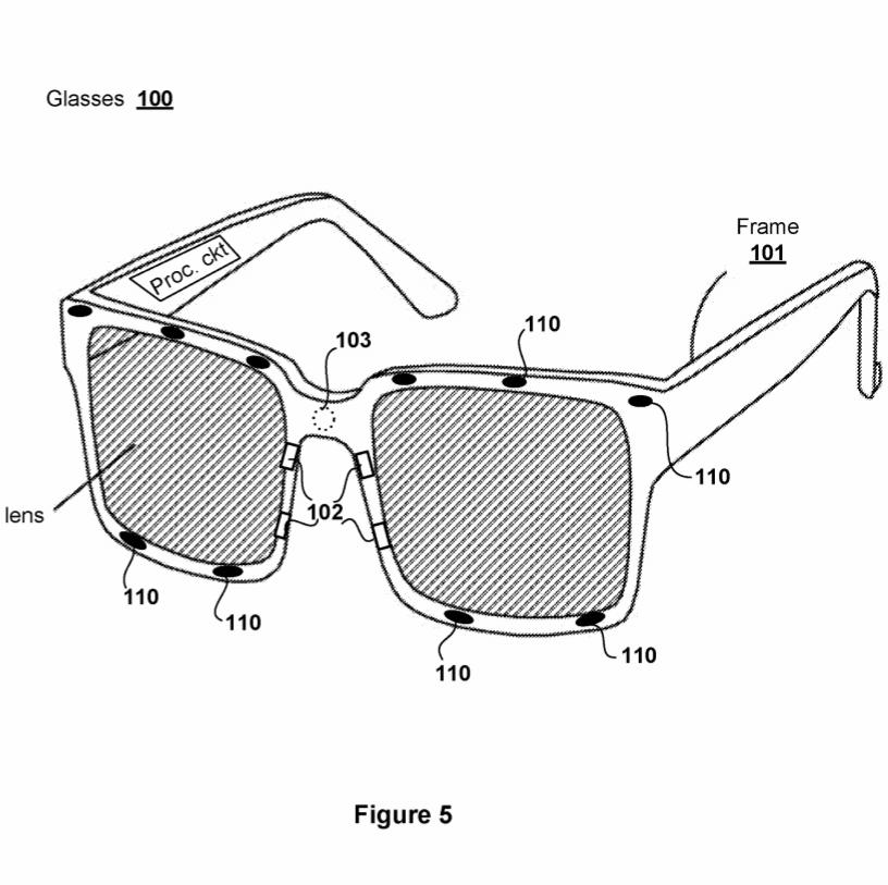 Brevet Lunettes VR PlayStation