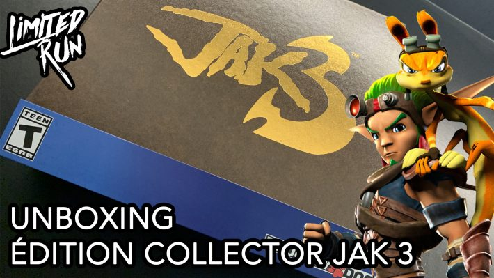 Unboxing Jak 3 Collector's Edition PS4
