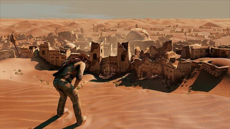 Screenshot Uncharted 3 L'Illusion de Drake