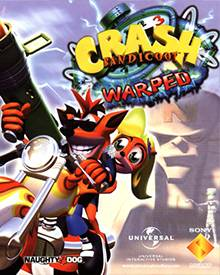 Jaquette Mini Crash Bandicoot 3 Warped