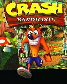 Jaquette Mini Crash Bandicoot