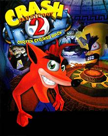 Jaquette Mini Crash Bandicoot 2 A Cortex Strikes Back