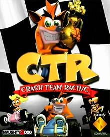 Jaquette Mini CTR Crash Team Racing
